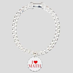 I love Math-Bau red 500 Bracelet