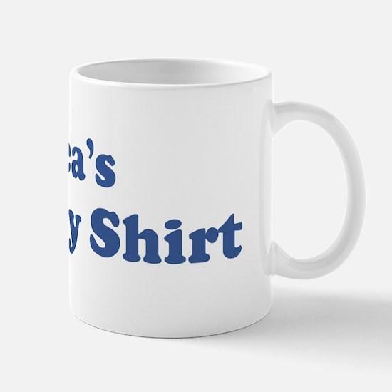 Erica birthday shirt Mug