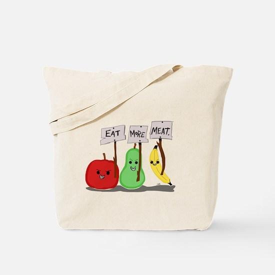 Eat More Meat Tote Bag