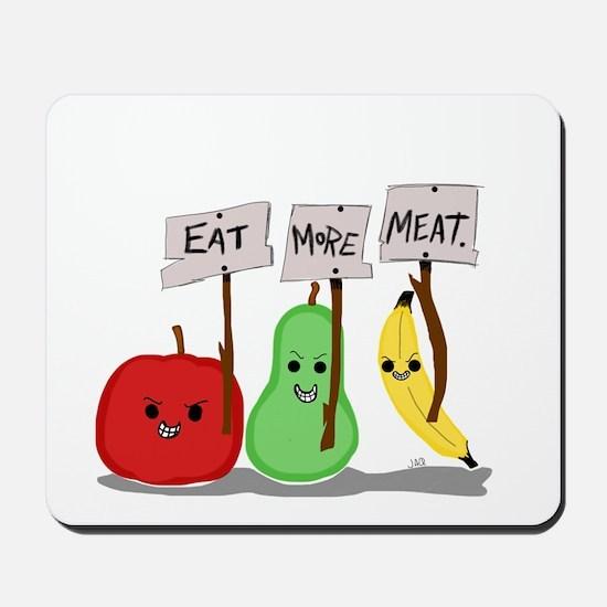Eat More Meat Mousepad