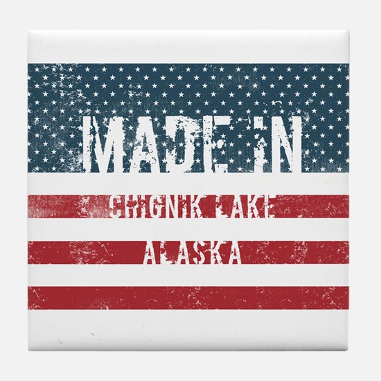 Made in Chignik Lake, Alaska Tile Coaster
