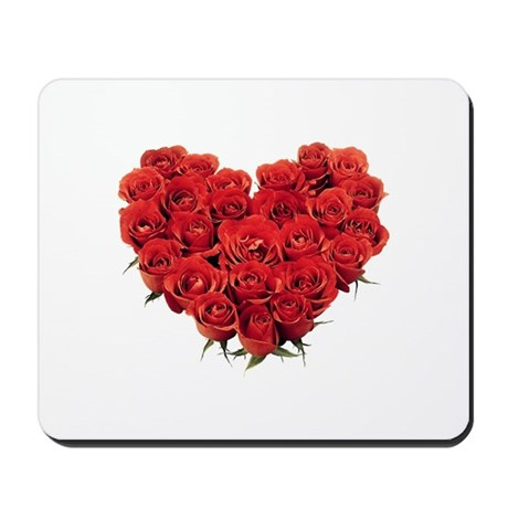 Heart of Roses Mousepad
