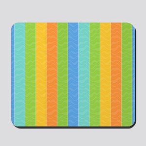Bands of Color Mousepad