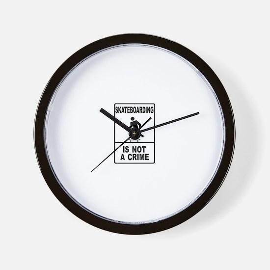 Unique Zine Wall Clock