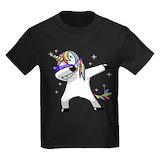 Unicorn Kids T-shirts (Dark)