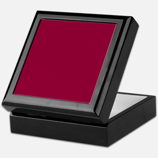 Solid red wine Keepsake Box