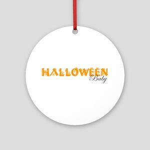 Halloween Baby Ornament (Round)