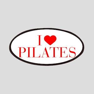 I love Pilates-Bau red 500 Patch