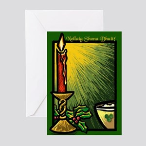 Candle and Bowl Christmas Cards (Pk of 20)