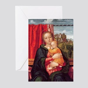 Virgin and Child Christmas Cards (Pk of 20)