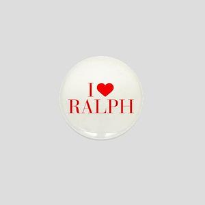 I love RALPH-Bau red 500 Mini Button