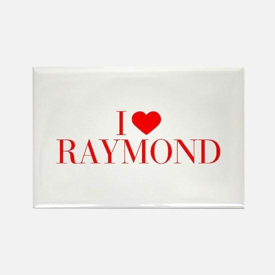I love RAYMOND-Bau red 500 Magnets