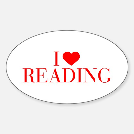 I love Reading-Bau red 500 Decal