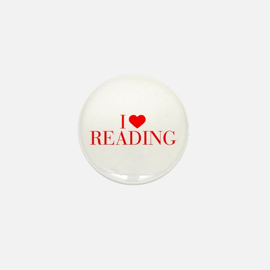 I love Reading-Bau red 500 Mini Button