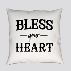 Bless Your Heart Everyday Pillow