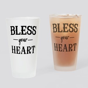 Bless Your Heart Drinking Glass