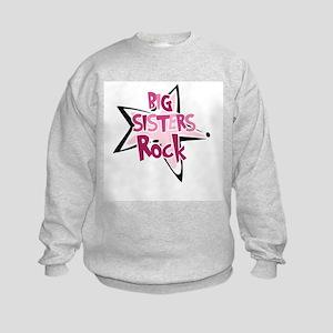 Big Sisters Rock2 - Kids Sweatshirt