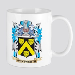 Wentworth Coat of Arms - Family Crest Mugs