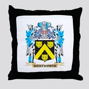 Wentworth Coat of Arms - Family Crest Throw Pillow