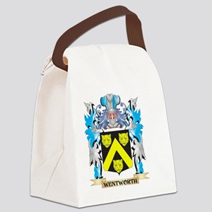 Wentworth Coat of Arms - Family C Canvas Lunch Bag
