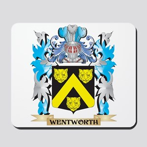 Wentworth Coat of Arms - Family Crest Mousepad