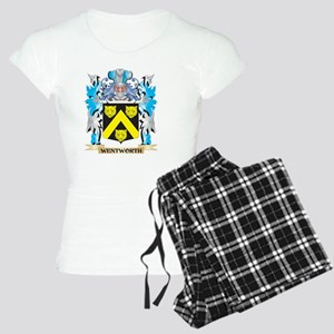 Wentworth Coat of Arms - Fa Women's Light Pajamas