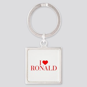 I love RONALD-Bau red 500 Keychains