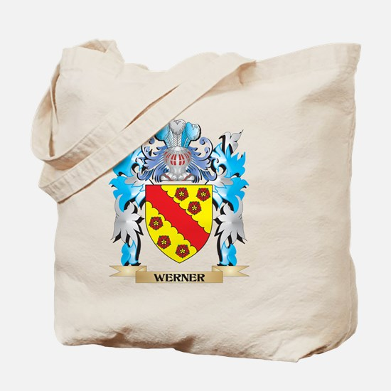 Werner Coat of Arms - Family Crest Tote Bag
