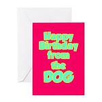 Sniff My Butt Birthday Card
