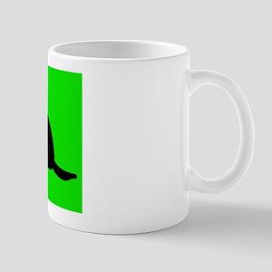 """""""iPOD LOGO"""" STYLE BEAVER Mug"""