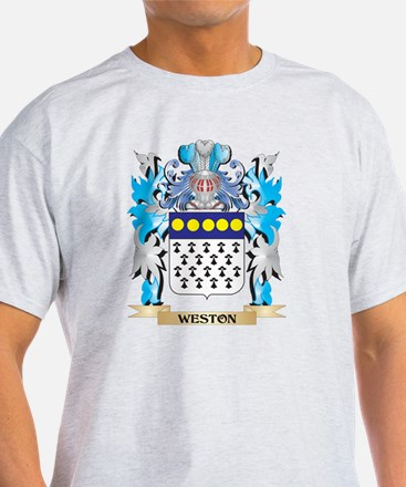 Weston Coat of Arms - Family Crest T-Shirt