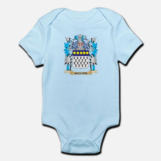 Weston Coat of Arms - Family Crest Body Suit