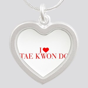 I love Tae Kwon Do-Bau red 500 Necklaces