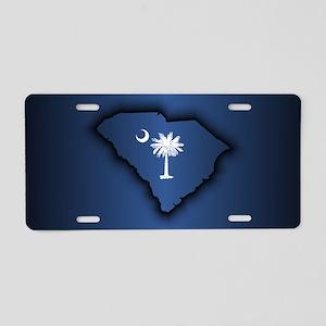 South Carolina (geo) Aluminum License Plate