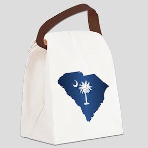 South Carolina (geo) Canvas Lunch Bag