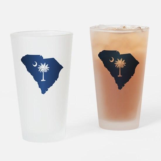 South Carolina (geo) Drinking Glass