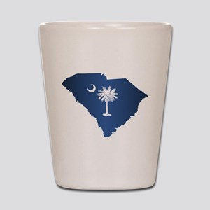 South Carolina (geo) Shot Glass
