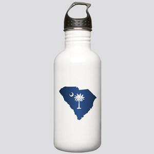 South Carolina (geo) Water Bottle