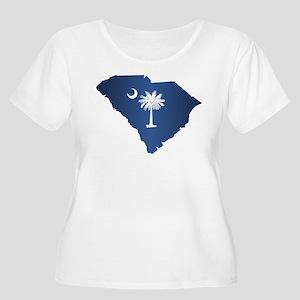 South Carolina (geo) Plus Size T-Shirt