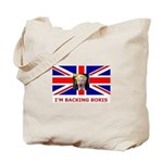 I'M BACKING BORIS Tote Bag
