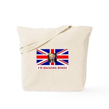 I'M BACKING BORIS Tote Bag