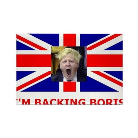 I'M BACKING BORIS Rectangle Magnet (100 pack)