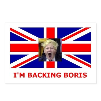 I'M BACKING BORIS Postcards (Package of 8)