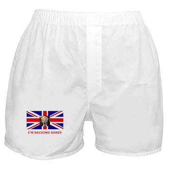 I'M BACKING BORIS Boxer Shorts