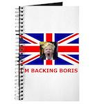 I'M BACKING BORIS Journal