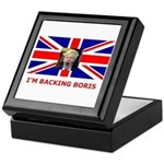 I'M BACKING BORIS Keepsake Box