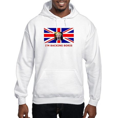 I'M BACKING BORIS Hooded Sweatshirt