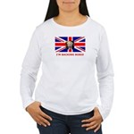 I'M BACKING BORIS Women's Long Sleeve T-Shirt