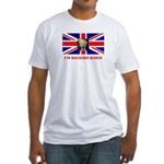 I'M BACKING BORIS Fitted T-Shirt