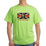 I'M BACKING BORIS Green T-Shirt